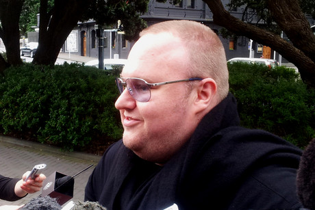 Kim Dotcom (Photo:Lloyd Burr/3 News)