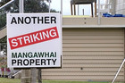 Almost 600 Mangawhai properties are refusing to pay their rates