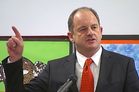 Labour Party leader David Shearer (file)