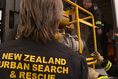 Two USAR teams were five hours late arriving in Christchurch