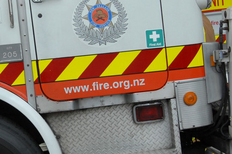One person is dead after a house fire in west Auckland on Friday evening