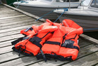 The men had life jackets aboard the boat, but were not wearing them  (file)