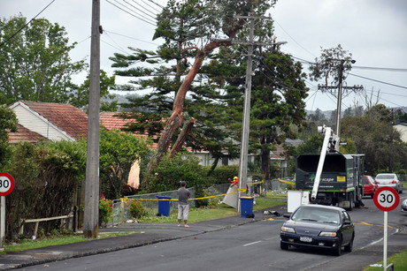 Auckland Civil Defence has estimated the total value of damage could be between $11 million and $13 million (AAP)