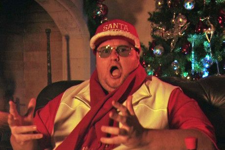 Kim Dotcom as Santa