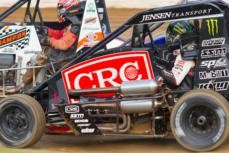 Auckland midget car racer Brad Mosen will be in action at Huntly Speedway in the Waikato on Saturday night (Picture: James Selwyn)