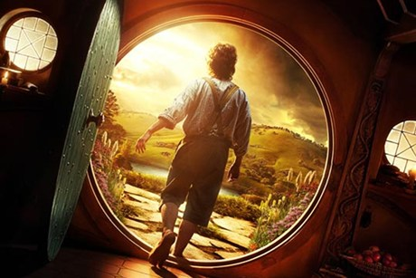 A promotional poster from The Hobbit: An Unexpected Journey  (file)