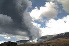 Last month Te Maari Crater at nearby Mt Tongariro spewed ash and gas up to 4km in the air