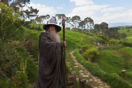 Gandalf in a scene from The Hobbit (AAP)