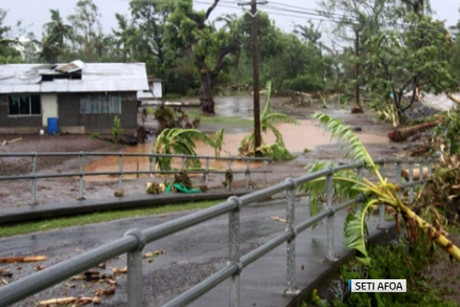 Thousands of people remain displaced in Samoa after Cyclone Evan