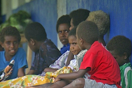 In Vanuatu, education ends after primary school for some 70 percent of the population