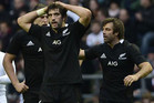 Brodie Retallick, Sam Whitelock and Conrad Smith dejected after their defeat (Reuters)