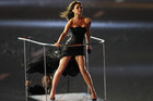 Victoria Beckham performs during the closing ceremony of the London 2012 Olympic Games (Reuters)