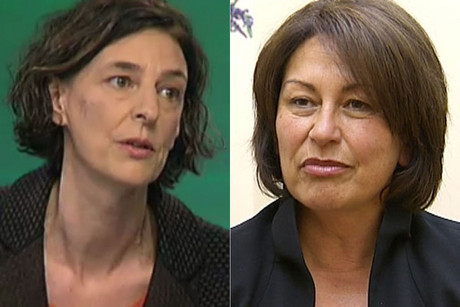 Lesley Longstone and Hekia Parata