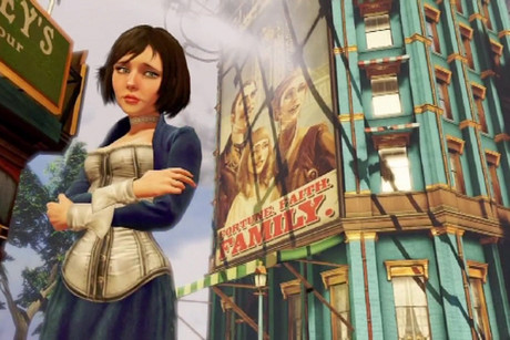 Promotional still for BioShock Infinite