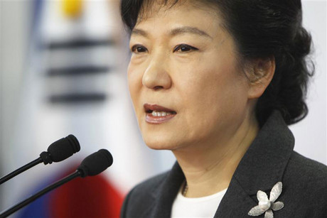 South Korea's conservative President-elect Park Geun-hye (Reuters)
