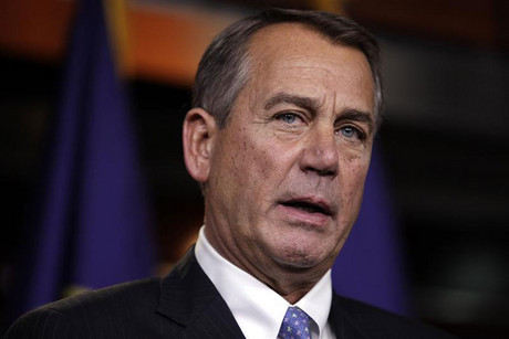 US House Speaker John Boehner (Reuters)