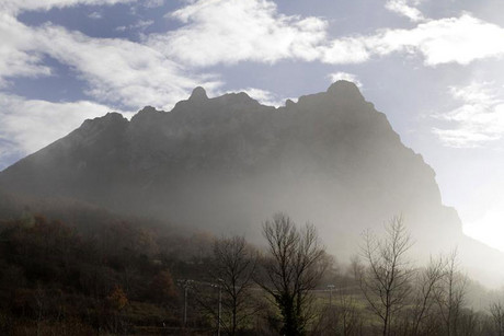The Peak of Bugarach, the highest point of the Corbieres massif, in southwestern France and surrounded in legend for centuries, has become a focal point for many Apocalypse believers as rumours have circulated that its mountain contains doors into other worlds, or that extraterrestrials will return here on Judgment day to take refuge at their base (Reuters)