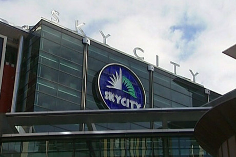 Sky City in Auckland