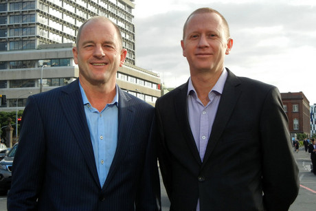 Labour Party leader David Shearer (left) and Green Party co-leader Russel Norman (AAP)