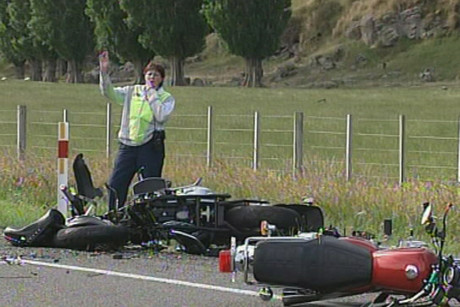 Five people died in motorcycles accidents over the weekend