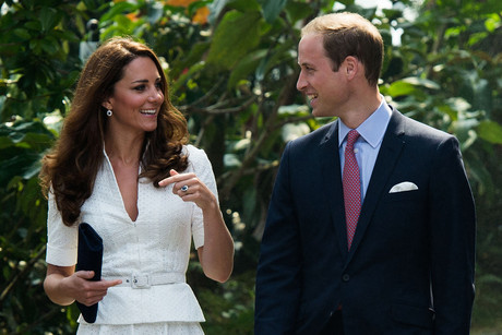 Prince William and Catherine, the Duchess of Cambridge (AAP file)