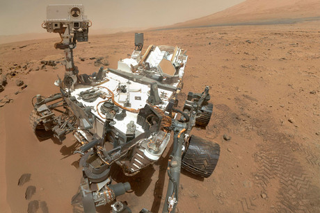 NASA's Curiosity rover in a self-portrait taken on Mars (NASA)