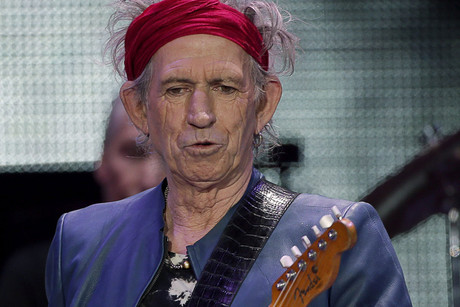 Keith Richards (AAP)