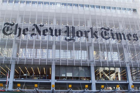 The New York Times is cutting jobs (file, Reuters)