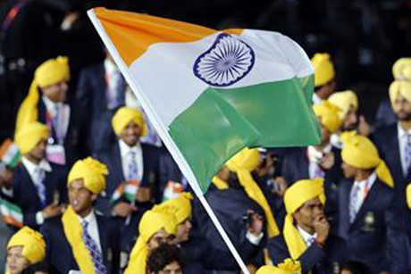 India's athletes will be barred from competing in Olympic events under their national flag (Reuters file)