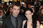 Robert Pattinson and Kristen Stewart (AAP)