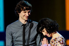 Gotye and Kimbra (AAP)