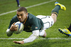 South Africa's try scoring machine Bryan Habana (Reuters file)