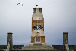 The vandalism of a Christchurch war memorial has a...