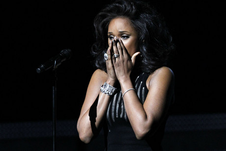 Whitney Houston performs at the 2012 Grammy Awards (Reuters)