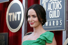 British star Emily Blunt has lent her name to Loons theatre in Lyttelton (file pic, Reuters)