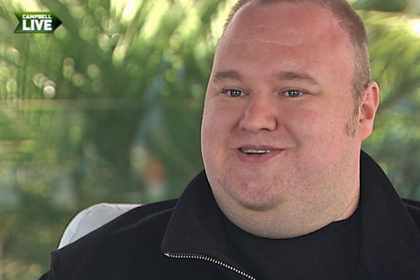 Kim Dotcom told Campbell Live the last two months have been like a &quot;nightmare&quot;