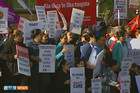 Last Wednesday workers walked off the job, which followed earlier action on March 21