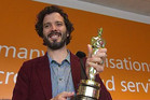 Bret McKenzie at Wellington International Airport