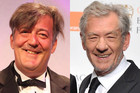 Stephen Fry; Sir Ian Mckellen (Photos: AAP)
