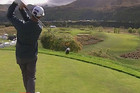 Top level golf returns to The Hills near Queenstown tomorrow in the opening round of the New Zealand PGA
