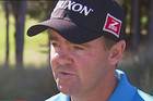 New Zealand golfer Mark Brown has been a star performer in the first round of the New Zealand PGA in Arrowtown