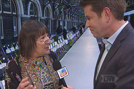 John Campbell is in Dunedin for one of the biggest events in the city's calendar, ID Dunedin Fashion Week
