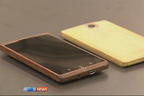 The bamboo smartphone is UK-designed and made in China