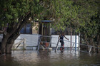 A Wagga Wagga resident is one of thousands whose houses have been flooded (AAP)