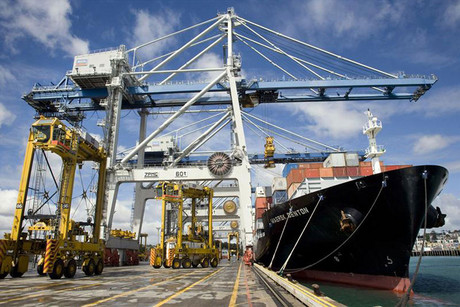 300 Auckland port workers have been sacked following industrial action (file)