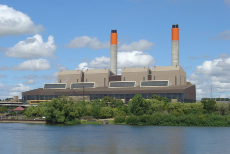 Genesis Energy's power station in Huntly