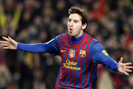 Barcelona's Lionel Messi (file pic)