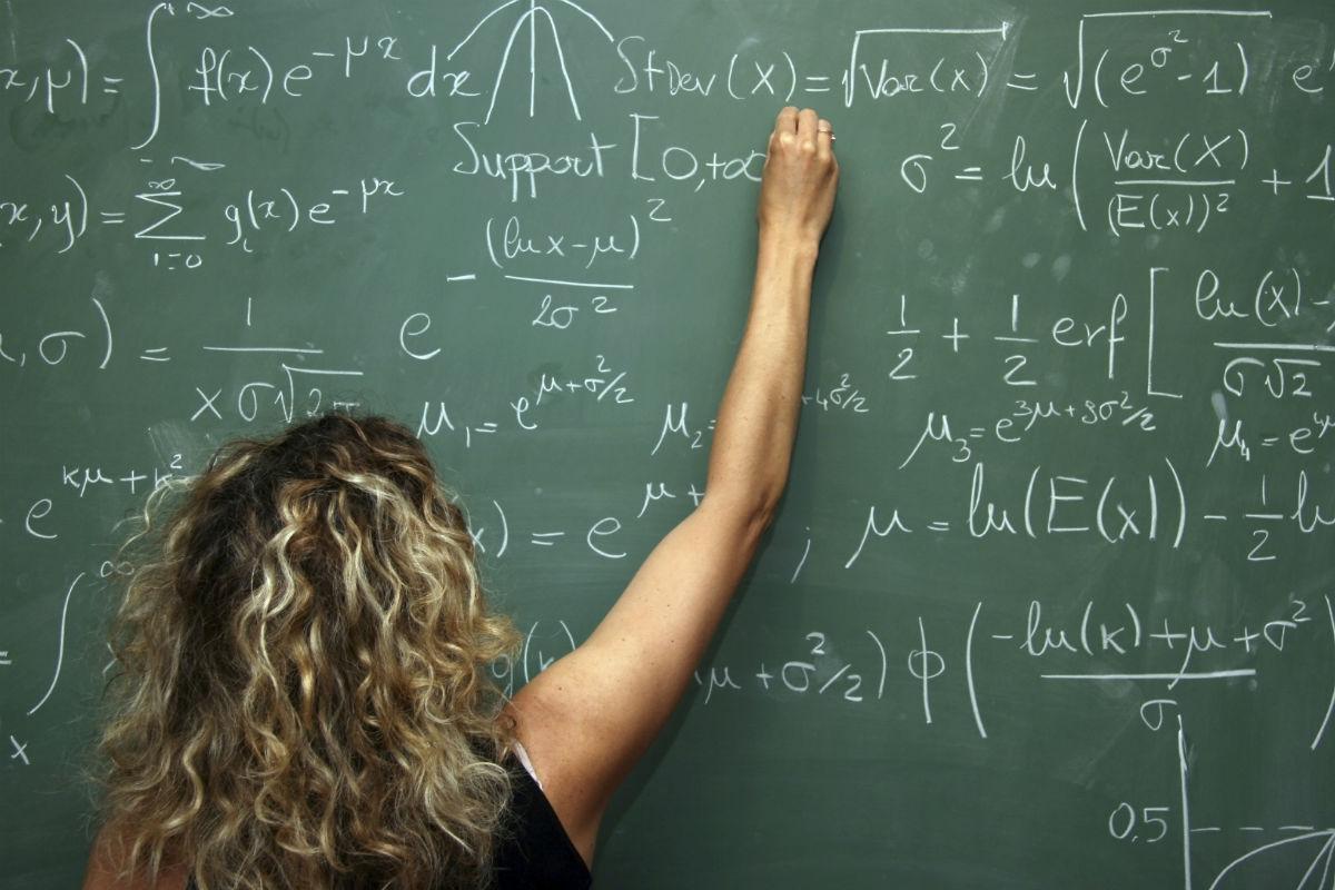 Girl Math Teacher Girls Just as Good at Maths at