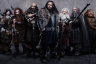 The Hobbit cast members in a publicity still