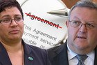 The Greens and National have agreed to disagree